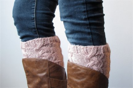 braided bootcuffs